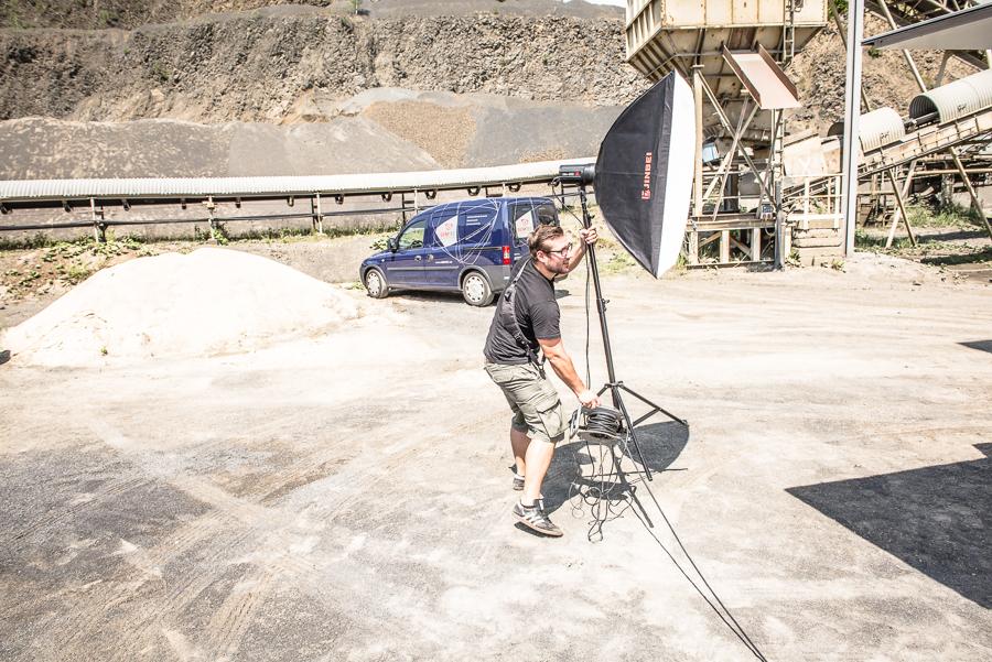 'Making-of' Imageaufnahmen VIMTEC