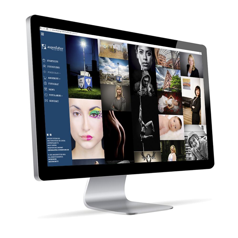 Webseite Augenfutter Fotografie